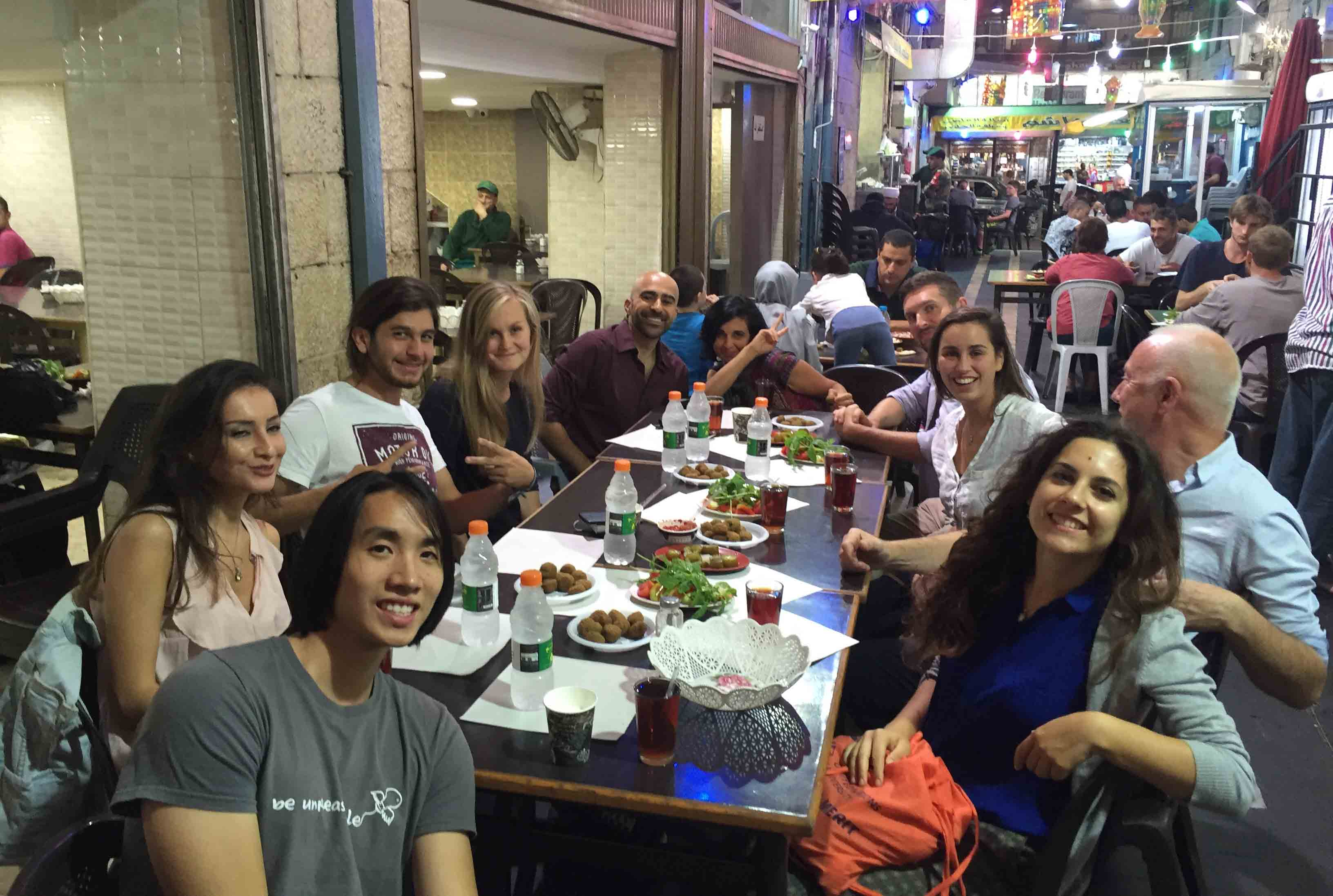 Open Embassy cofounders dine in Amman with fellow IFR contestants