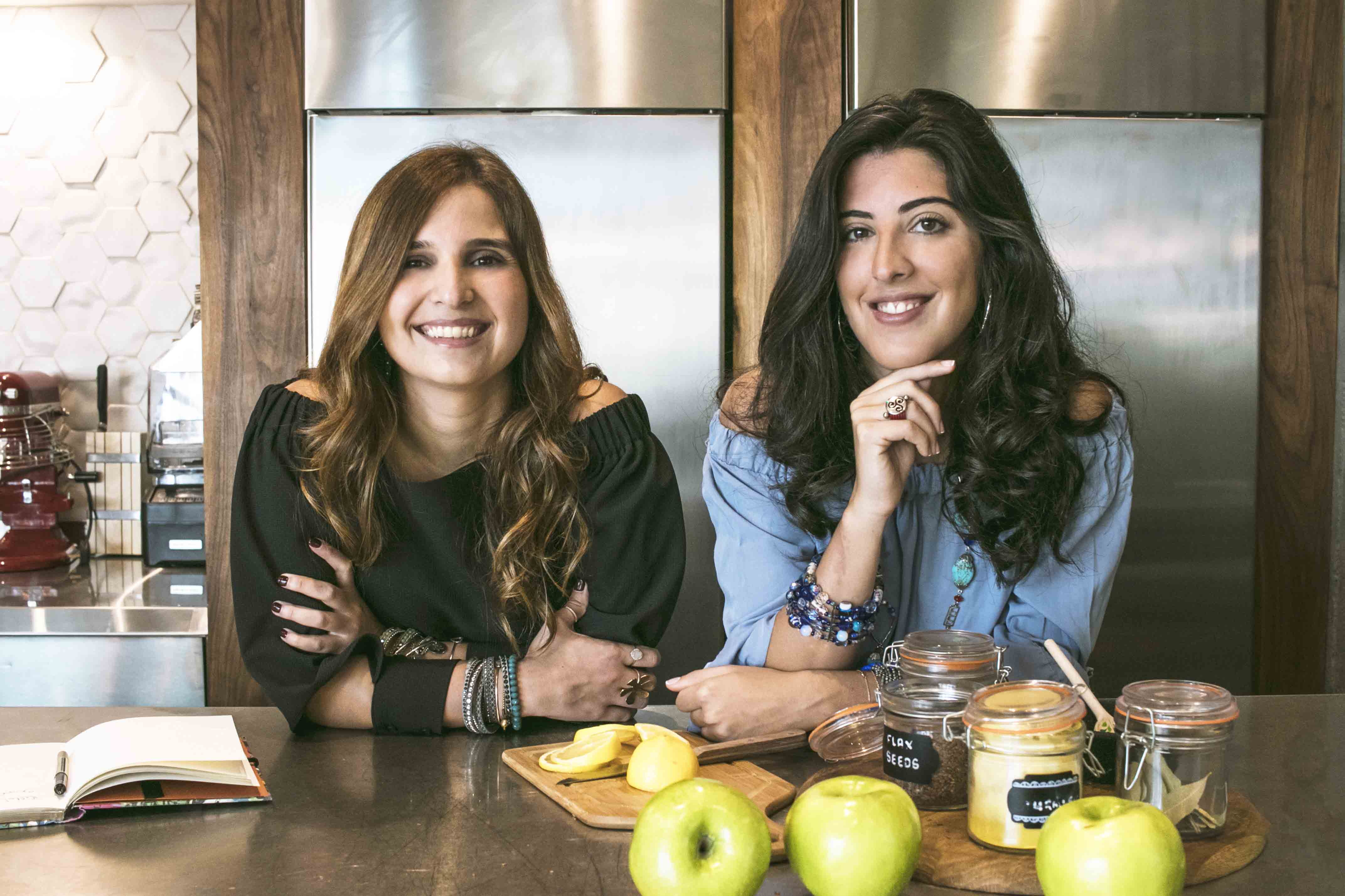 Founders Nadine Tayyara and Maria Abi Hanna