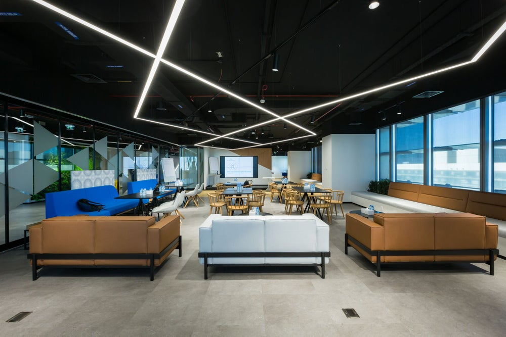 The Hub71 space in Abu Dhabi.