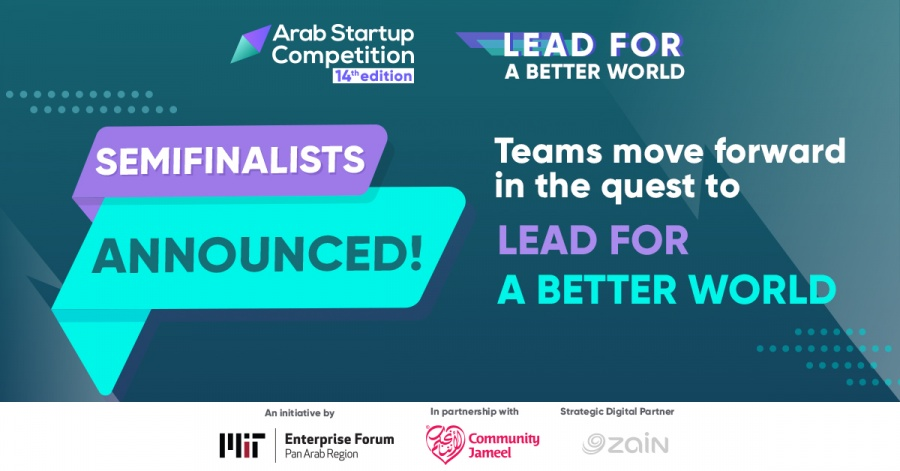 MITEF Arab Startup Competition 14th Edtition Semifinalists