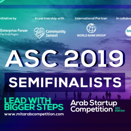 Twelfth MIT Enterprise Forum Arab Startup Competition Semifinalists #ASC2019