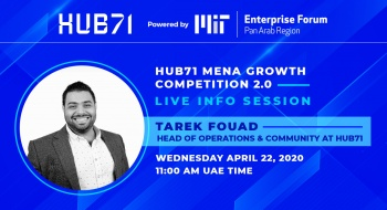 Hub71 MENA Growth Competition Live Info Session